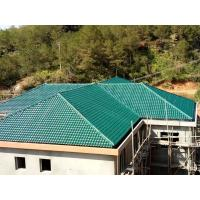 Buy cheap 1050mm width Acoustic Corrugated Pvc Roofing Sheets For Villa / Hotel product