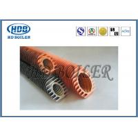 Steel Extruded Spiral Fin Tube Economizer For Heat Transfer / Air Cooler
