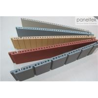 Buy cheap Colorful Ceramic Exterior Wall Panels Products Reliable 300 * 800 * F18mm Size product