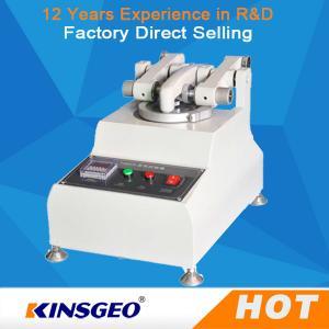 KJ-3050 Customized Rubber Testing Machine Wear Resistance Of Skin