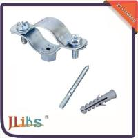 Cast Iron Horizontal / Vertical Pipe Support Clamps For Ceilings Floor Mounting