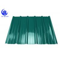 Buy cheap Pvc Resin Plastic Roof Tiles Anti - Corrosive Multiayer Surface product