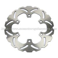 Buy cheap 240mm Motorcycle Brake Disc Rotor For Front Left / Right Position from wholesalers