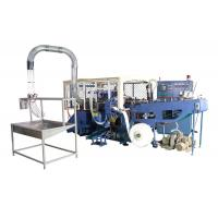 Buy cheap 35kw Automatic High Speed Paper Container Making Machine with Flameless Hot Air Sealing from wholesalers