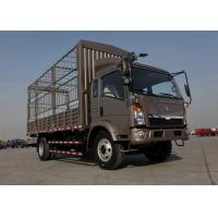 7 Ton Stake Animal Transport Truck , WLY535 Transmission Cattle Transport Trucks
