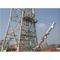 Quality Open Ground / Elevated Demountable Flare System Carbon Steel Material 40-160m Height for sale