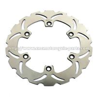 Buy cheap VFR400R Motorcycle Brake Disc Solid Racing Rotors Brakes Silver Wing 600 Front from wholesalers