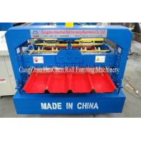 PLC Control System Roof Sheet Making Machine Corrugated Iron Rolling Machine