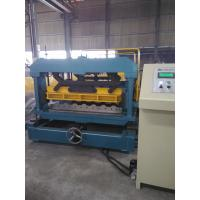 Anti Rust Roller Tile Roll Forming Machinery 5.5KW High Precision