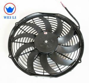 Bus Low Noise Centrifugal Fan , 12V/24V DC Brush Ultra Thin Electric Radiator Fan