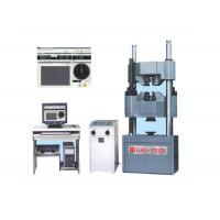Buy cheap 2000kn PC Tensile Compression Tester , Bending Strength Testing MachineManual Control product