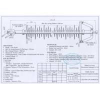 Buy cheap 132KV,160kN Long Rod Insulator With Polymer Grey Sheds, Use In Transmission Line product