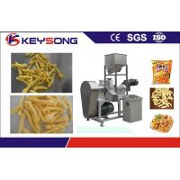 Buy cheap Kurkure Chips Cheetos Making Machine , Fried Corn Curls Food Extrusion Equipment product