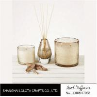 Golden Fragrance Home Reed Diffuser Beautiful Smelling For Purifying Air