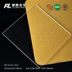 Buy cheap Lightweight Plexiglass ESD Acrylic Sheet , Pvc Acrylic Sheet Shock Resistance product