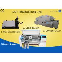 Buy cheap Manual SMT Production Line Solder Paste Stencil Printer , PCB Assembly Line Batch production from wholesalers