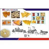 Buy cheap 380V 52kw Corn Snacks Doritos Making Machine Double Screw Extrusion Low Energy Consumption product