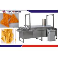 Buy cheap Tortilla / Corn Chips Doritos Making Machine Production Capacity 100 - 200kg / H product