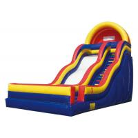Children Fun Colourful Large Inflatable Slide Fun Land For Summer Activity
