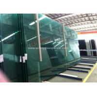 Buy cheap Fire Proof Safety Laminated Glass Curtain Wall / Stairs Safety Glass Panels product