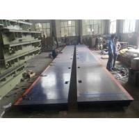 Buy cheap 3*15m 120 Ton Electronic Lorry Weighbridge Anti Corrosion Painting Easy Assembly product
