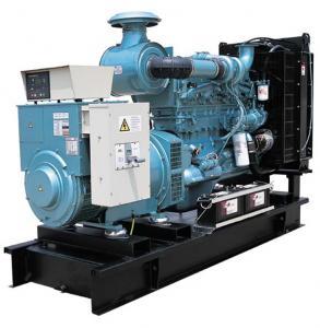 Volvo 4 Cylinder Diesel Generator 100kw , Three Phase Water Cooled Diesel Generator