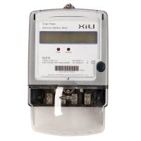 Buy cheap Power Consumption Single Phase Energy Meter with six tariff rate , customized product