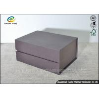 Buy cheap Matt Handmade Cardboard Packing Boxes , Decorative Paper Boxes Book Shaped product