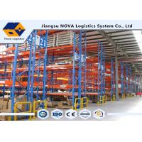 Multilayer Durable Industrial Pallet Racks Galvanized Finish For Frames