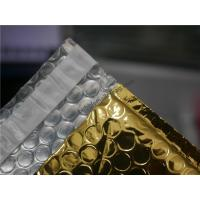 Buy cheap Gold Metallic Padded Envelopes , 260x350 #A4-2VD Foil Bubble Wrap Envelopes product