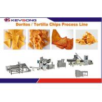 Buy cheap Industrial Food Processing Equipment , Custom Puff Extrusion Nacho Chip Machine product
