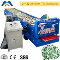 Q235 Color Steel Sheet Roofing Sheet Roll Forming Machine ISO 9001