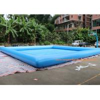 Buy cheap 10*10m or customized size 2018 new  inflatable water pool ,giant inflatble pool from wholesalers