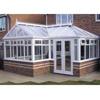 Buy cheap Powder Coating High End Greenhouses , White Aluminum Frame Greenhouse product