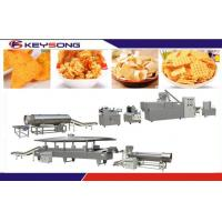 Buy cheap Automatic Screw Extruder Fried Snacks Making Machine , Snack Food Processing Equipment product