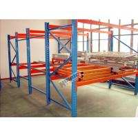 Buy cheap Galvanized Pallet Racking Weight Capacity 1200Kg Custom Storage Shelving product