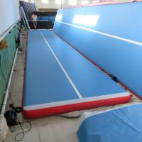 Buy cheap High End Physical Exercises Inflatable Air Track Customized Height / Thick product