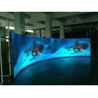 Buy cheap Light Weight Slim Cuved Led Display For Shopping Mall Hotel Bar Concert  Wide Viewing Angle from wholesalers