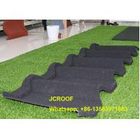 Quality Waterproof  Stone Coated Steel Roof Tiles For Building Roof Construction for sale