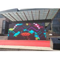 Buy cheap SMD2525 Waterpoof Outdoor Stage LED Video WallRentalWith Vivid Visuals / Images product