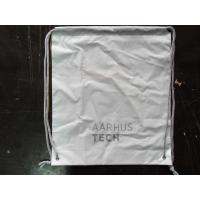 Buy cheap PersonalizedPP Promotion  Packaging / White Plastic Drawstring Backpack product