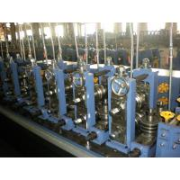 Galvanzied Steel Tube Making Machine With High Frequency Welding