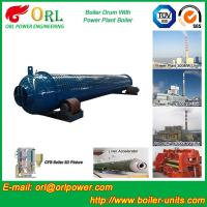 High Strength Thermoplastic Mud Drum In Boiler Anti Corrosion Custom