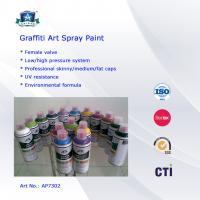 Buy cheap Multi Colors 400ml Art Graffiti Spray Paint For Wall / House Decoration product