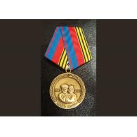 Two Side Die CastingZinc Alloy or Pewter Custom Awards Medals with High 3D and High Polishing