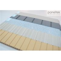 Buy cheap High Strength Terracotta Panels Ceramic , Lined / Grooved / Flat Exterior Wall Cladding product