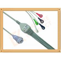 NEC 16 Pin Ecg Snap ConnectorCable AHA Cable 5 Leads Compatible For 3M12