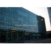 Buy cheap Flat 10MM Tempered Safety Glass Low Visible Distortion , Milk White Laminated Glass product