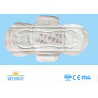 Negative Ion Disposable Ladies Sanitary Napkins High Abosorption Winged Shape
