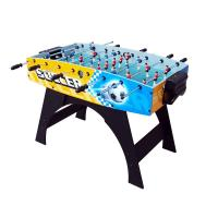 Color Graphics Design 4 FT Soccer Table , New Style MDF Indoor Football Table